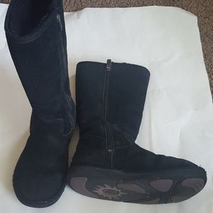 UGG Tall Black Boots Size 5